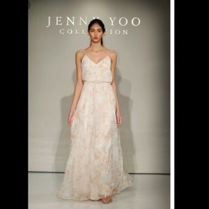 Jenny Yoo Inesse Bridesmaid Dress in Multi Color